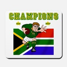 South Africa Rugby Mousepad