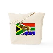 South Africa Springbok Flag Tote Bag
