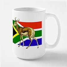 South Africa Springbok Flag Mug