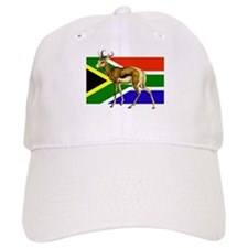 South Africa Springbok Flag Cap