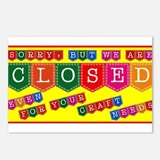 Store Closed Postcards (Package of 8)