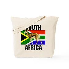 South Africa Springbok Tote Bag