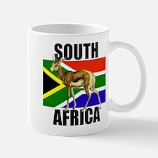 South Africa Springbok Mug