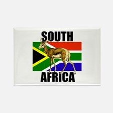 South Africa Springbok Rectangle Magnet