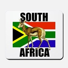 South Africa Springbok Mousepad