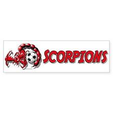 Scorpions Soccer Bumper Bumper Sticker