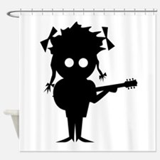 Solo Singer Shower Curtain