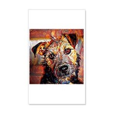 Lakeland Terrier: A Portrait in O Wall Decal