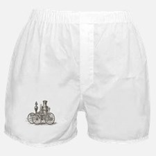 Vintage transport wooden cart Boxer Shorts