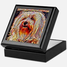 Havanese: A Portrait in Oil Keepsake Box