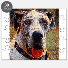 Great Dane: A Portrait in Oil Puzzle