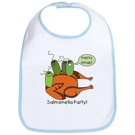Salmonella Party Bib