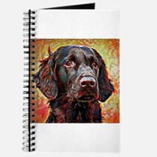 Flat Coated Retriever: A Portrait in Oil Journal