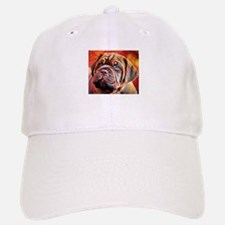 Dogue de Bordeaux: A Portrait in Oil Baseball Baseball Cap