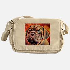 Dogue de Bordeaux: A Portrait in Oil Messenger Bag