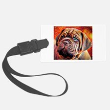 Dogue de Bordeaux: A Portrait in Luggage Tag