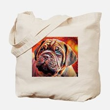 Dogue de Bordeaux: A Portrait in Oil Tote Bag