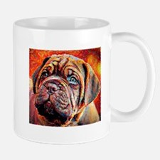 Dogue de Bordeaux: A Portrait in Oil Mug
