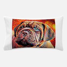 Dogue de Bordeaux: A Portrait in Oil Pillow Case