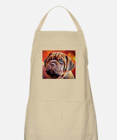 Dogue de Bordeaux: A Portrait in Oil Apron