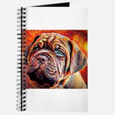 Dogue de Bordeaux: A Portrait in Oil Journal
