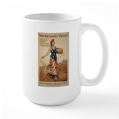 Sow Seeds of Victory - Large Mug