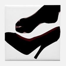 Dropped Shoe Tile Coaster