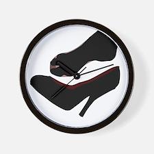 Dropped Shoe Wall Clock