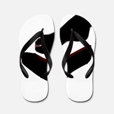 Dropped Shoe Flip Flops