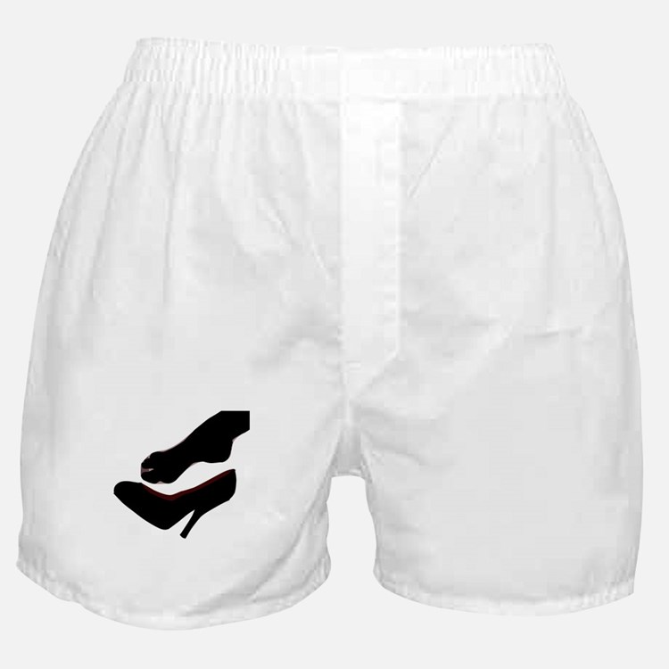 Dropped Shoe Boxer Shorts