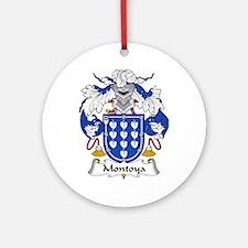 Montoya Ornament (Round)