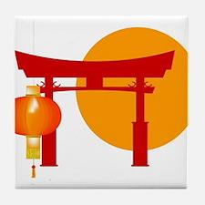 Tori Gate Icon Tile Coaster