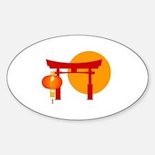 Tori Gate Icon Decal