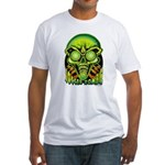 Soccer Zombie Fitted T-Shirt