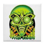 Soccer Zombie Tile Coaster