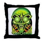 Soccer Zombie Throw Pillow