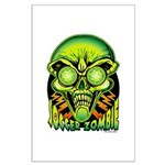 Soccer Zombie Large Poster