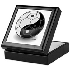 Ying Yang Soccer Ball Tile Box
