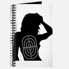 Female Human Shape Target Journal