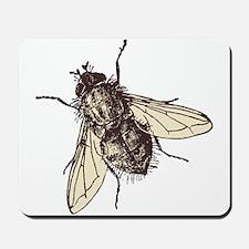 Fatty housefly art Mousepad