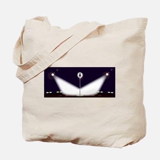Wide Stage Tote Bag