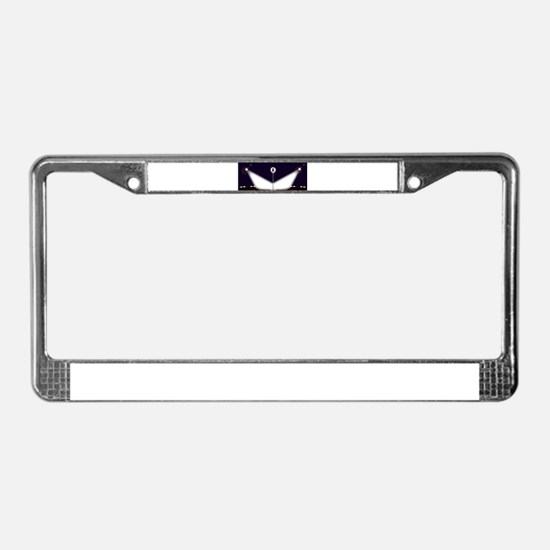 Wide Stage License Plate Frame