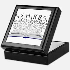 Book of Letters Keepsake Box