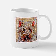West Highland Terrier: A Portrait in Oi Mug