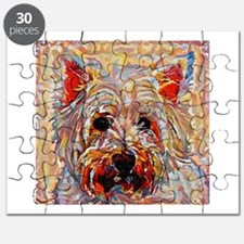 West Highland Terrier: A Portrait in Oil Puzzle