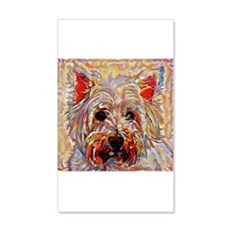 West Highland Terrier: A Portrait Wall Decal