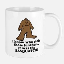 Sasquatch Stole the Lunches Mug