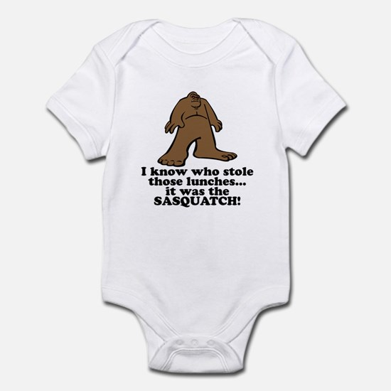 Sasquatch Stole the Lunches Infant Bodysuit