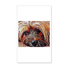 Tibetan Terrier: A Portrait in Oi Wall Decal