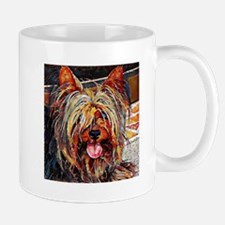 Yorkshire Terrier: A Portrait in Oil Mug